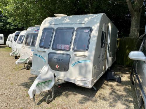 2010 Bailey Olympus 464 4 Berth Touring Caravan 101