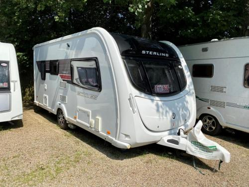 2012 Sterling Eccles Topaz 2 Berth Touring Caravan 101