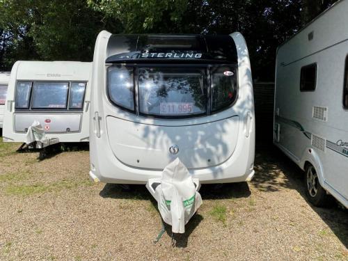 2012 Sterling Eccles Topaz 2 Berth Touring Caravan 102
