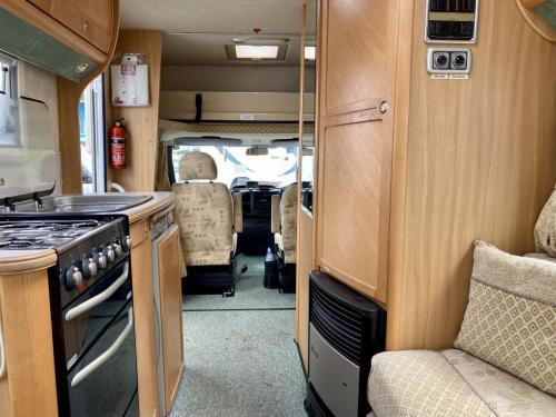 Auto-Sleeper Ravenna 4 Berth Coachbuilt Motorhome NX55 KGY (3)