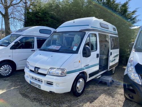Auto-Sleeper Symbol 2 Berth Coachbuilt Hi-Top Campervan NX53 FDD (1)