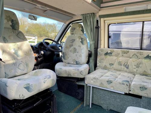 Auto-Sleeper Symbol 2 Berth Coachbuilt Hi-Top Campervan NX53 FDD (3)