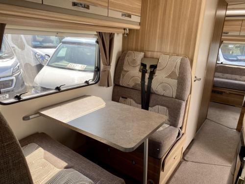 Bessacarr E496 6 Berth Coachbuilt Motorhome HX14 DBV (1)