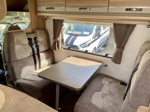 Bessacarr E496 6 Berth Coachbuilt Motorhome HX14 DBV (11)