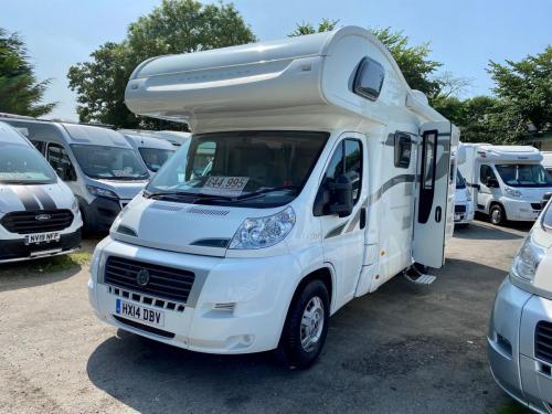 Bessacarr-E496-6-Berth-Coachbuilt-Motorhome-HX14-DBV 17