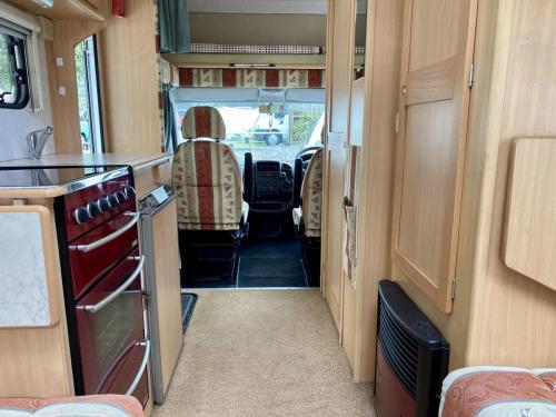 Elddis Firestorm 200 4 Berth Coachbuilt Motorhome NY03 LLC (10)