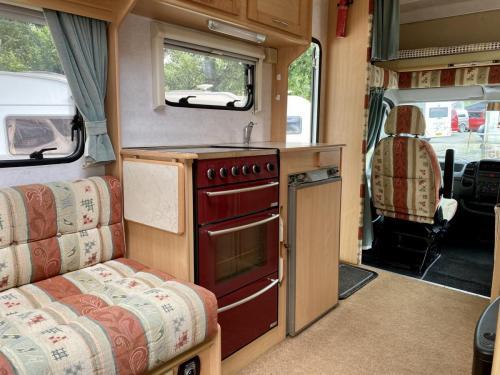 Elddis Firestorm 200 4 Berth Coachbuilt Motorhome NY03 LLC (11)