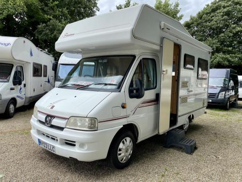 Elddis Firestorm 200 4 Berth Coachbuilt Motorhome NY03 LLC (6)