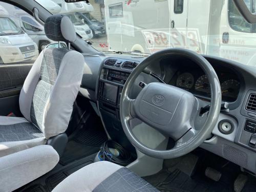 Toyota Granvia 22 Berth Pop Top Campervan P884 AFE (2)