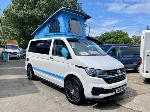 Volkswagen Transporter 4 Berth Pop Top Campervan GD70 OWB (12)