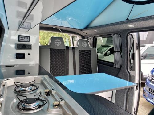 Volkswagen Transporter 4 Berth Pop Top Campervan GD70 OWB (2)