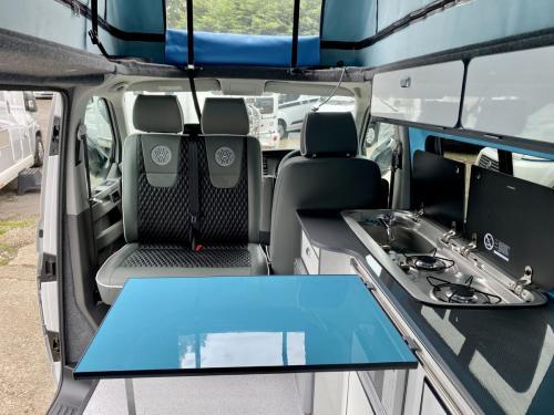 Volkswagen Transporter 4 Berth Pop Top Campervan GD70 OWB (6)