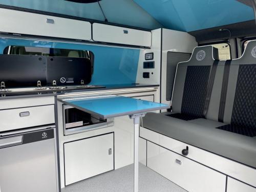 Volkswagen Transporter 4 Berth Pop Top Campervan GD70 OWB (9)