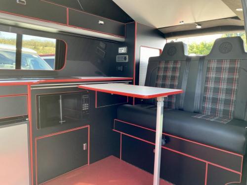 Volkswagen Transporter 6.1 Swomper Edition 4 Berth Pop Top Campervan NV70 KNL (1)