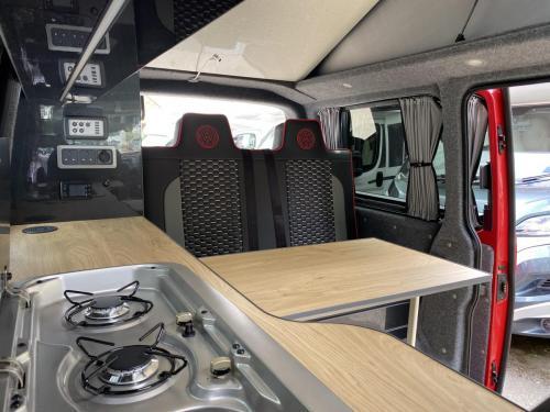 Volkswagen Transporter T.32 Shuttle 4 Berth Pop Top Campervan XHZ 6696 (13)