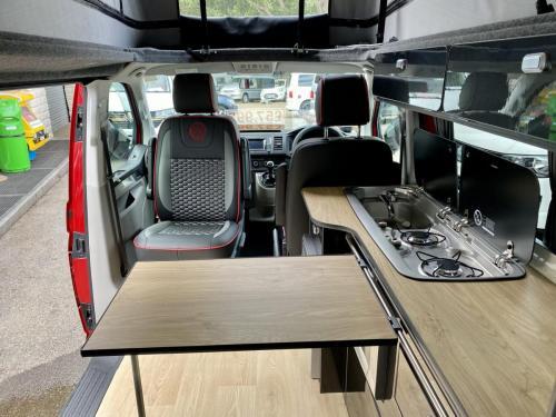 Volkswagen Transporter T.32 Shuttle 4 Berth Pop Top Campervan XHZ 6696 (3)