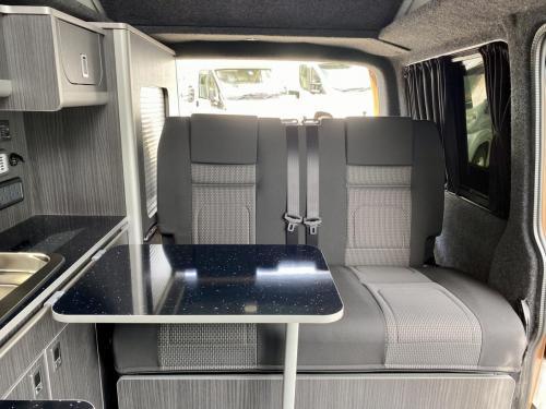 Volkswagen Transporter T30 Highline 4 Berth Pop-Top Campervan XHZ 7879 (13)