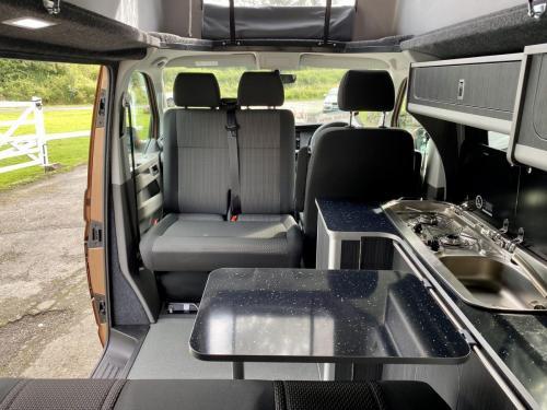 Volkswagen Transporter T30 Highline 4 Berth Pop-Top Campervan XHZ 7879 (8)