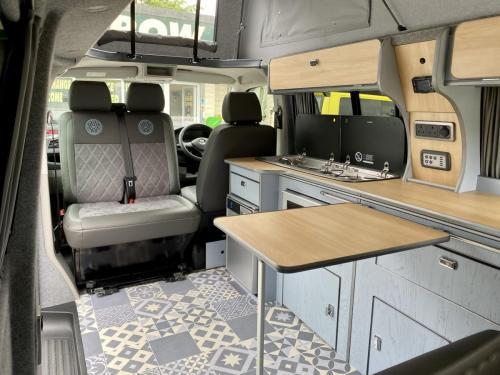 Volkswagen Transporter T6 LWB 4 Berth Pop Top Campervan SD67 XJH (10)