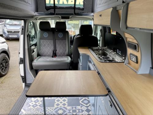 Volkswagen Transporter T6 LWB 4 Berth Pop Top Campervan SD67 XJH (11)