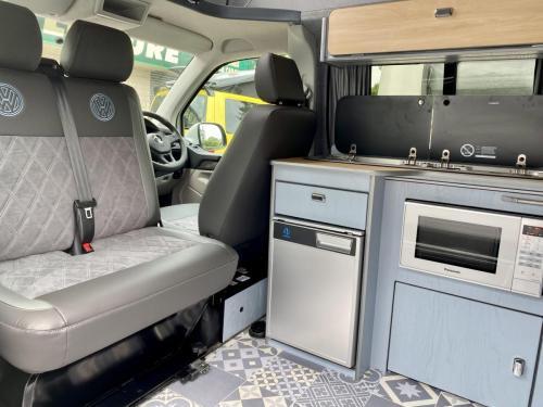 Volkswagen Transporter T6 LWB 4 Berth Pop Top Campervan SD67 XJH (3)