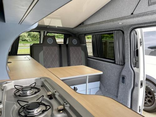 Volkswagen Transporter T6 LWB 4 Berth Pop Top Campervan SD67 XJH (4)