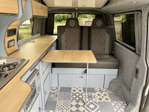 Volkswagen Transporter T6 LWB 4 Berth Pop Top Campervan SD67 XJH (7)