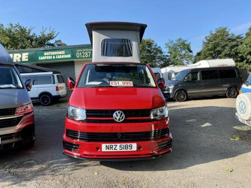 Volkswagen Transporter T6 LWB T30 4 Berth Pop Top Campervan NRZ 5189 (1)