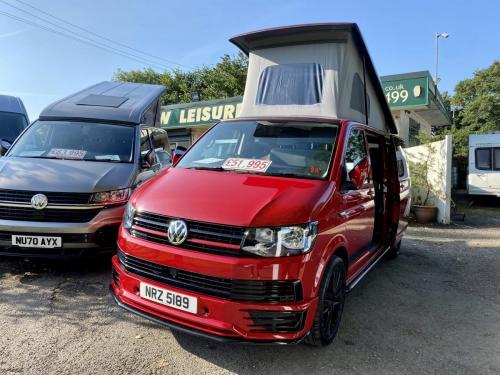 Volkswagen Transporter T6 LWB T30 4 Berth Pop Top Campervan NRZ 5189 (11)