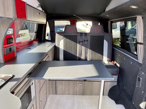 Volkswagen Transporter T6 LWB T30 4 Berth Pop Top Campervan NRZ 5189 (5)