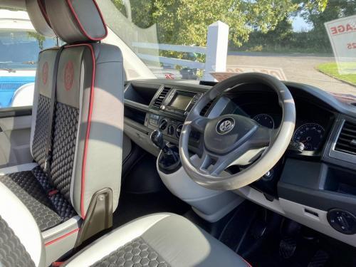 Volkswagen Transporter T6 LWB T30 4 Berth Pop Top Campervan NRZ 5189 (6)