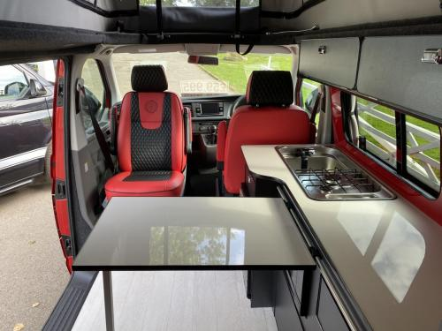 Volkswagen Transporter T6.1 SWB T28 4 Berth Pop Top Campervan NG21 AKO (1)