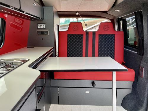 Volkswagen Transporter T6.1 SWB T28 4 Berth Pop Top Campervan NG21 AKO (10)