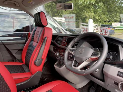 Volkswagen Transporter T6.1 SWB T28 4 Berth Pop Top Campervan NG21 AKO (11)