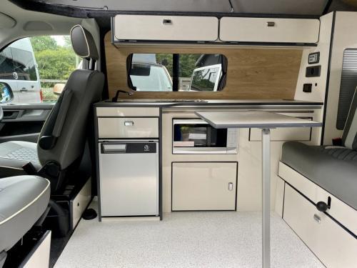 Volkswagen Transporter T6.1 SWB T28 4 Berth Pop Top Campervan PD21 VNA (1)
