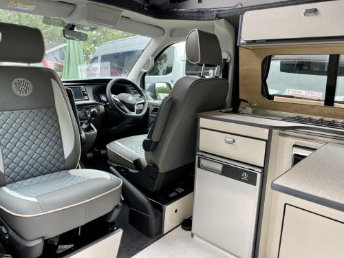 Volkswagen Transporter T6.1 SWB T28 4 Berth Pop Top Campervan PD21 VNA (12)