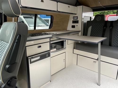 Volkswagen Transporter T6.1 SWB T28 4 Berth Pop Top Campervan PD21 VNA (2)