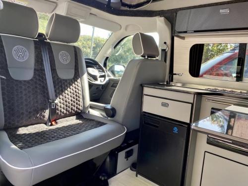 Volkswagen Transporter T6.1 SWB T30 4 Berth Pop Top Campervan NV21 VYF (2)