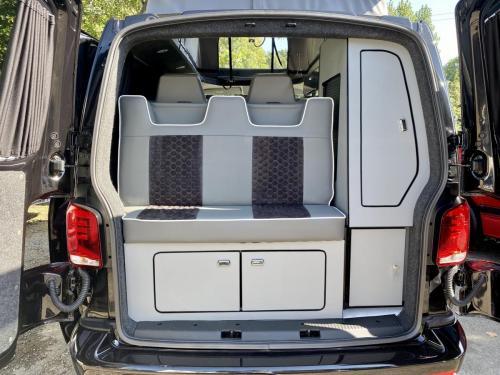 Volkswagen Transporter T6.1 SWB T30 4 Berth Pop Top Campervan NV21 VYF (5)