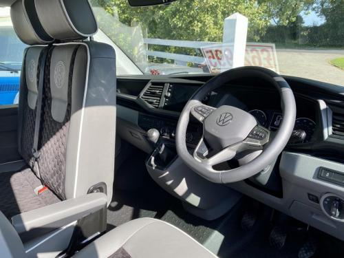 Volkswagen Transporter T6.1 SWB T30 4 Berth Pop Top Campervan NV21 VYF (8)